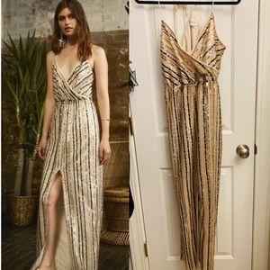 Free People x Saylor Archer Sequin Gown